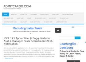 admitcardx.com