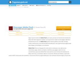 adobe-flash.programas-gratis.net