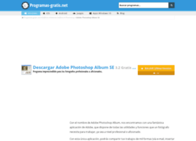 adobe-photoshop-album-se.programas-gratis.net