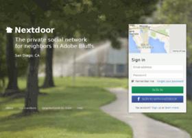 adobebluffs.nextdoor.com