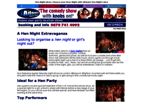 adoniscabaretshows.co.uk