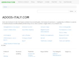 adoos-italy.com