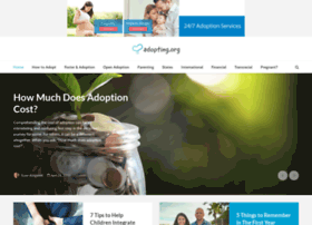 adopting.adoption.com