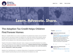 adoptiontaxcredit.org