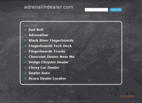 adrenalindealer.com
