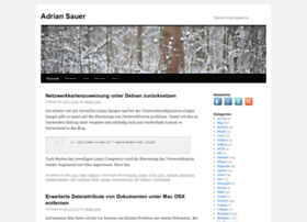 adriansauer.com