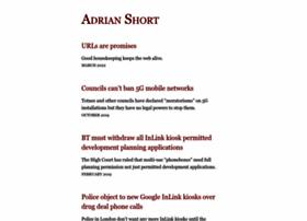 adrianshort.org