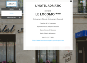 adriatic-paris-hotel.com