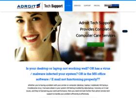 adroittechsupport.com