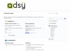 adsy.uservoice.com