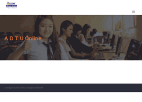 adtuonline.edu.in