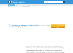 advanced-effect-maker.programas-gratis.net