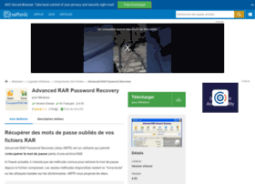 advanced-rar-password-recovery.softonic.fr