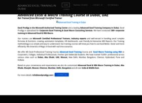 advancedexceltrainingdubai.weebly.com