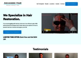 advancedhairrestoration.com