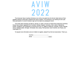 advancedvalueinvestingworkshop.com