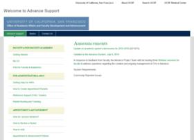 advancesupport.ucsf.edu