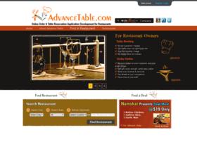 advancetable.com