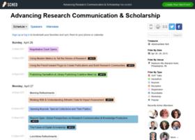 advancingresearchcommunicat2015.sched.org