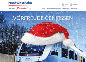 advent.nordwestbahn.de