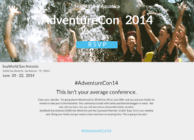 adventurecon14.splashthat.com