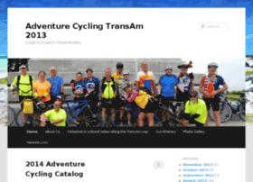 adventurecyclingtransam2013.com