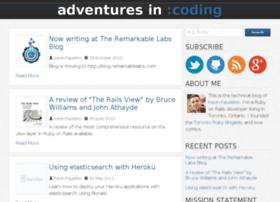 adventuresincoding.com