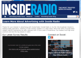 advertisinginsider.insideradio.com