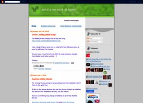 adviceforworkathome.blogspot.com