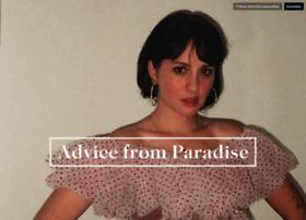 advicefromparadise.tumblr.com
