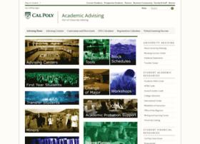 advising.calpoly.edu