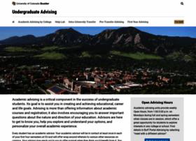advising.colorado.edu