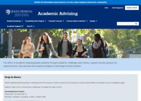 advising.jhu.edu