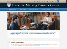 advising.richmond.edu
