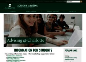 advising.uncc.edu