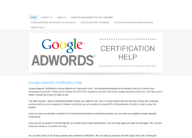 adwords-certification-help.weebly.com