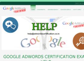 adwordscertification.co.in