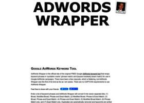adwordswrapper.com