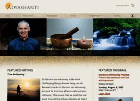 adyashanti.org