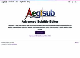 aegisub.org
