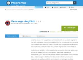 aegisub.programas-gratis.net
