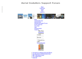 aerial-installers-support-forum.co.uk