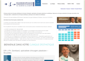 aesthetic-clinic-dombard-brussels.com