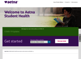 aetnastudenthealth.com