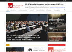 afa-architekturmagazin.de