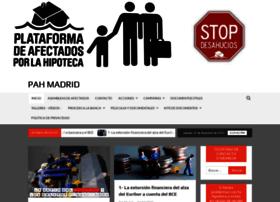afectadosporlahipotecamadrid.net