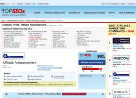 affiliate-announcement.topseoscompanies.com