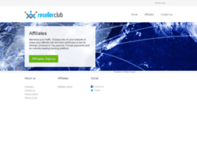 affiliate.resellerclub.com