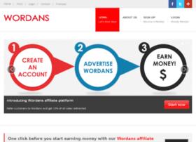 affiliate.wordans.com