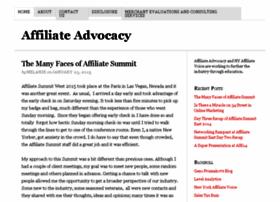 affiliateadvocacy.com